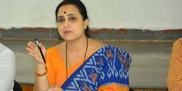 महिलांवरील वाढते अत्याचार आणि  बेफिकीर, निर्दय सरकार - भाजपा प्रदेश उपाध्यक्षा चित्रा वाघ